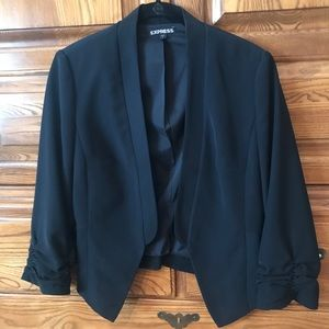 Express 3/4 touched sleeve blazer